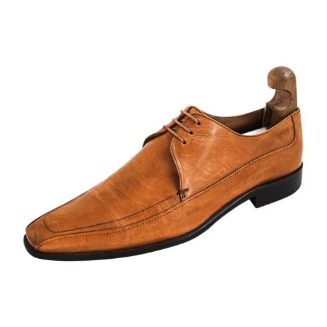 Chaussures à lacets HUGO BOSS Beige, camel