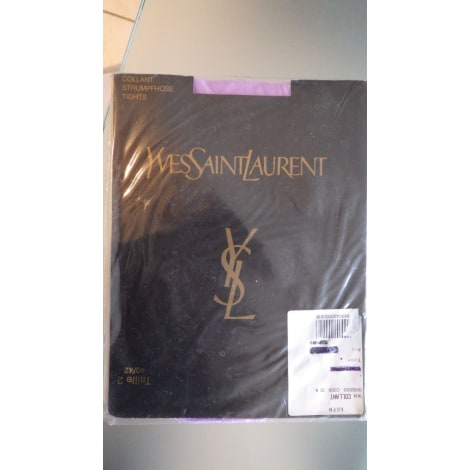 Collant YVES SAINT LAURENT Violet, mauve, lavande
