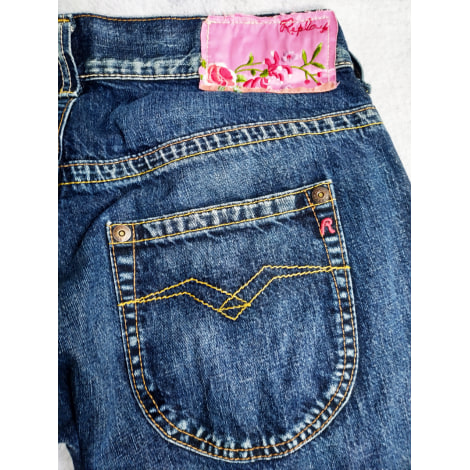 Jeans évasé, boot-cut REPLAY Bleu, bleu marine, bleu turquoise