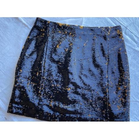 Jupe courte SUD EXPRESS Doré, bronze, cuivre