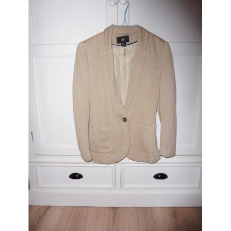 Blazer, veste tailleur H&M Beige, camel
