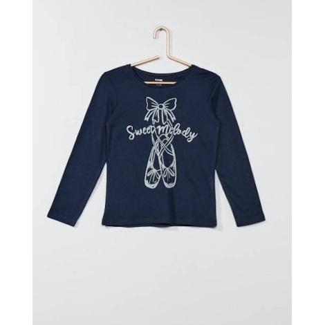 Top, Tee-shirt KIABI Bleu, bleu marine, bleu turquoise