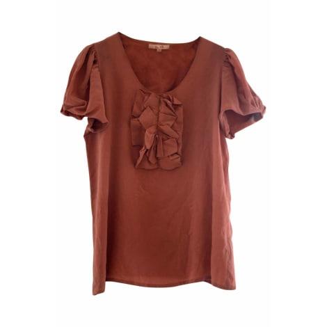 Top, tee-shirt BEL AIR Rose, fuschia, vieux rose
