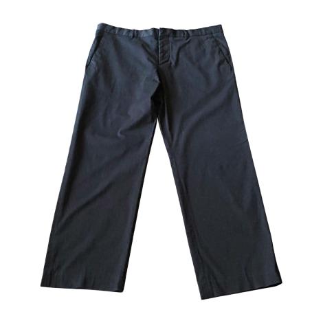 Pantalon droit HELMUT LANG Noir