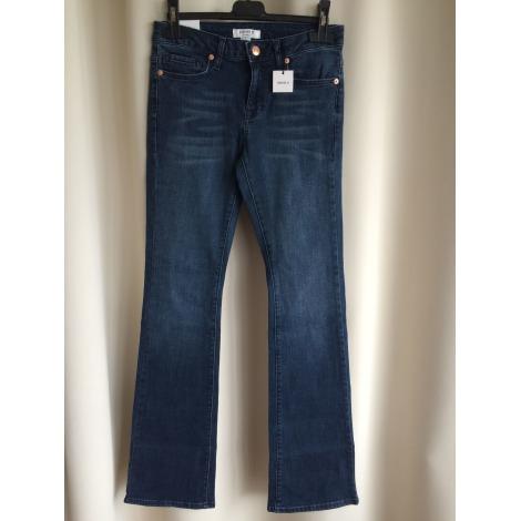 Jeans évasé, boot-cut FOREVER 21 Bleu, bleu marine, bleu turquoise