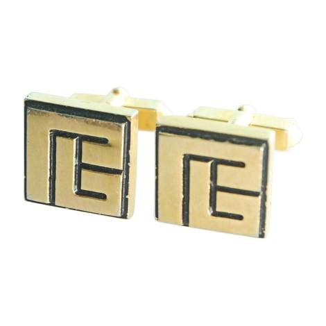 Cufflinks BALMAIN Golden, bronze, copper