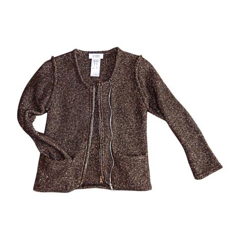 Gilet, cardigan SONIA BY SONIA RYKIEL Marron, dorée, bronze, cuivre