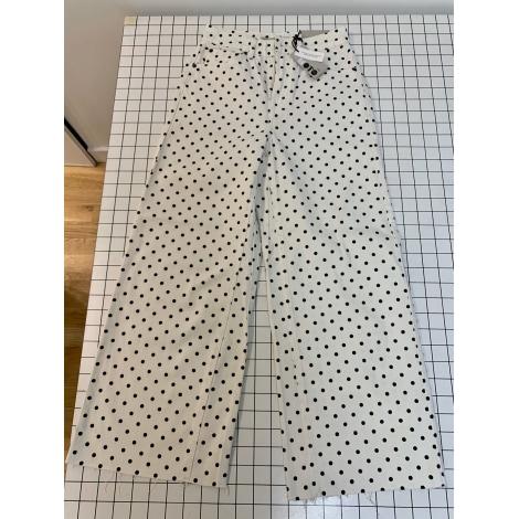 Jeans très evasé, patte d'éléphant TOPSHOP Blanc, blanc cassé, écru