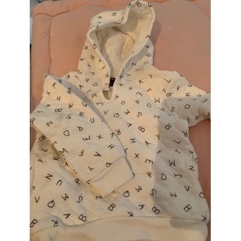 Sweatshirt KIABI White, off-white, ecru