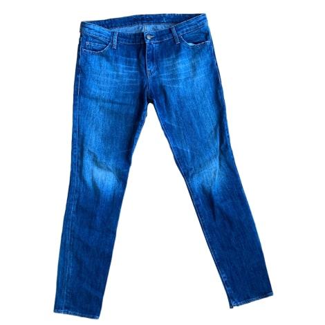 Jeans slim BA&SH Bleu, bleu marine, bleu turquoise