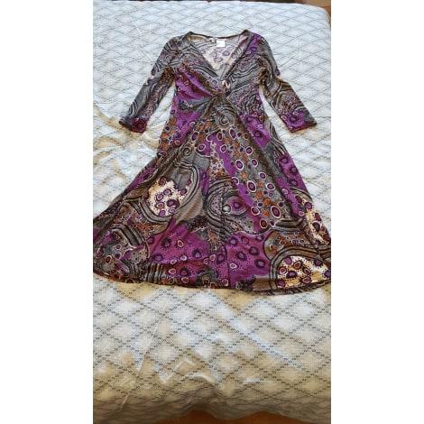Robe mi-longue SASSIA Multicouleur