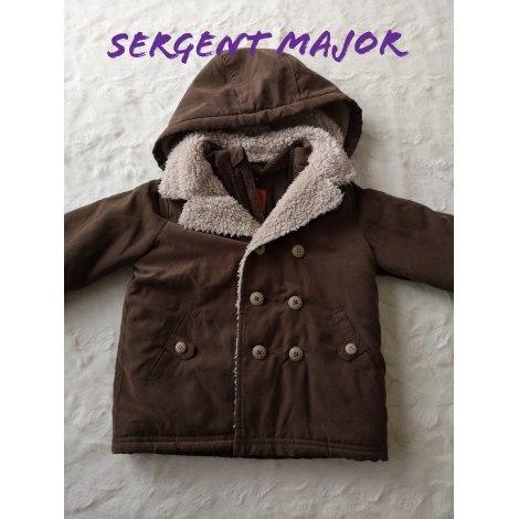 Manteau SERGENT MAJOR Marron