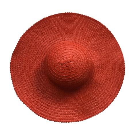 Chapeau LA PERLA Rouge, bordeaux