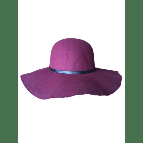 Chapeau KIABI Rouge, bordeaux