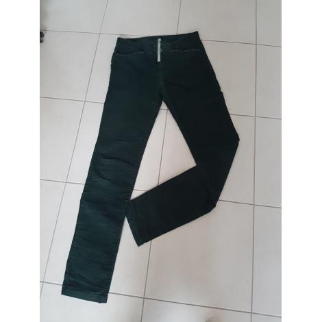 Pantalon droit COP-COPINE Vert