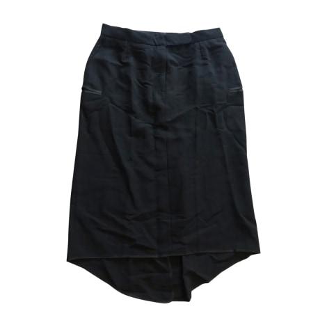 Jupe mi-longue ISABEL MARANT ETOILE Noir