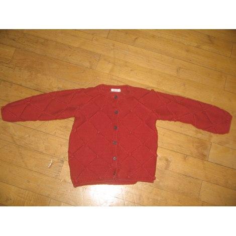 Gilet, cardigan BOUT'CHOU Rouge, bordeaux