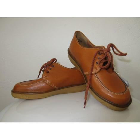 Chaussures à lacets LE LOUP BLANC Beige, camel