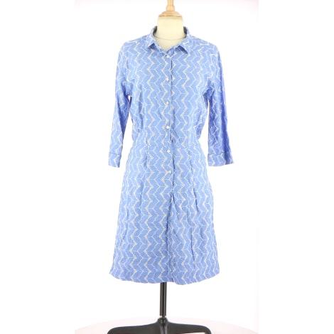 Robe mi-longue MKT Bleu, bleu marine, bleu turquoise