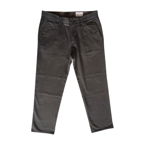 Jeans droit HUGO BOSS Marron