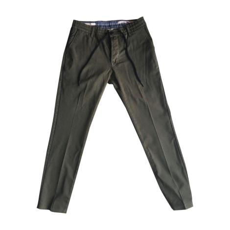 Pantalon droit JACOB COHEN Kaki