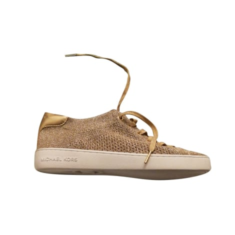 Sneakers MICHAEL KORS Gold, Bronze, Kupfer