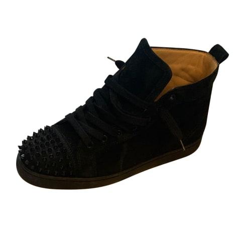 Lace Up Shoes CHRISTIAN LOUBOUTIN Black