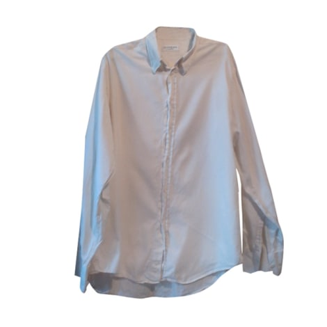 chemise yves saint laurent 41 42 l blanc 1116971. Black Bedroom Furniture Sets. Home Design Ideas