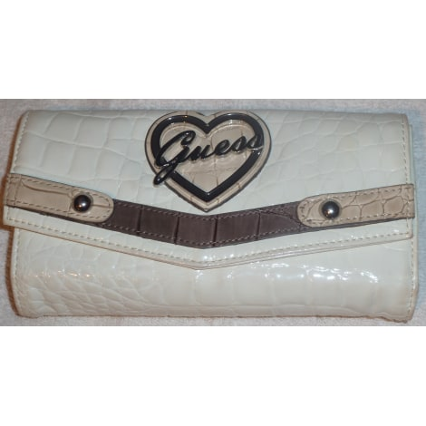 Portefeuille Guess Blanc 1257209