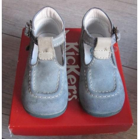 Calzature con fibbie KICKERS Blu, blu navy, turchese