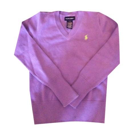 pull ralph lauren 7 8 ans violet vendu par karine carmen292865 1387033. Black Bedroom Furniture Sets. Home Design Ideas