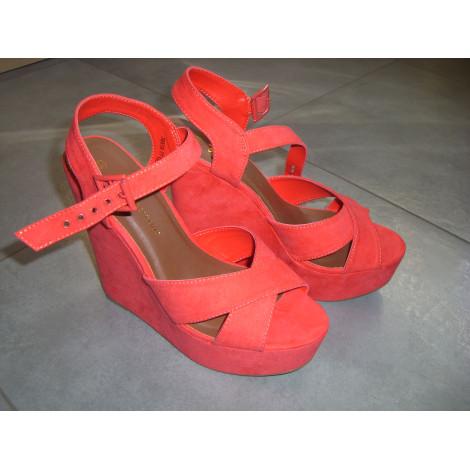 Wedge Sandals ATMOSPHERE 40 orange