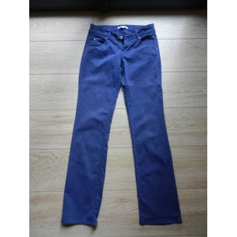 Pantalon droit SUD EXPRESS Bleu, bleu marine, bleu turquoise