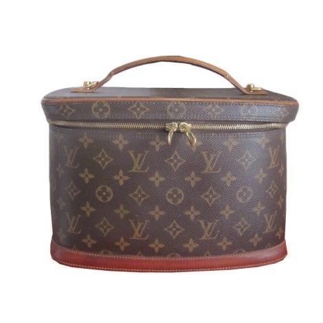 sac main en cuir louis vuitton beige vendu par titev ro 1484455. Black Bedroom Furniture Sets. Home Design Ideas