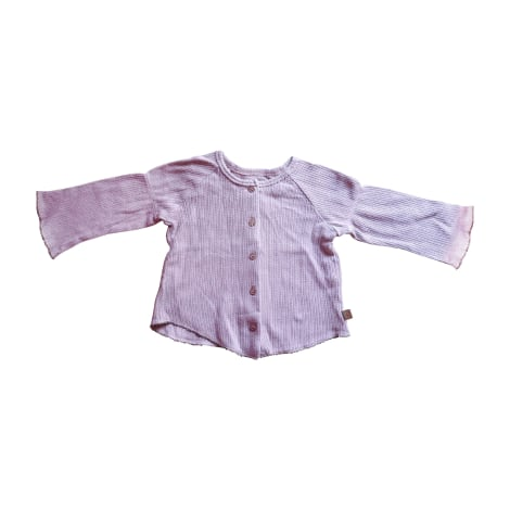 Gilet, cardigan JEAN BOURGET Violet, mauve, lavande