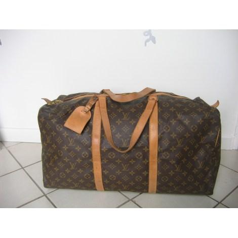 18c11ed820 Sac XL en cuir LOUIS VUITTON marron vendu par Nina 1940911 - 167111