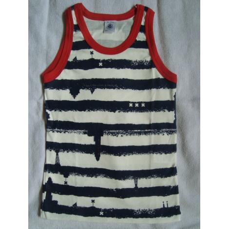 maillot de corps petit bateau 7 8 ans bleu vendu par d. Black Bedroom Furniture Sets. Home Design Ideas