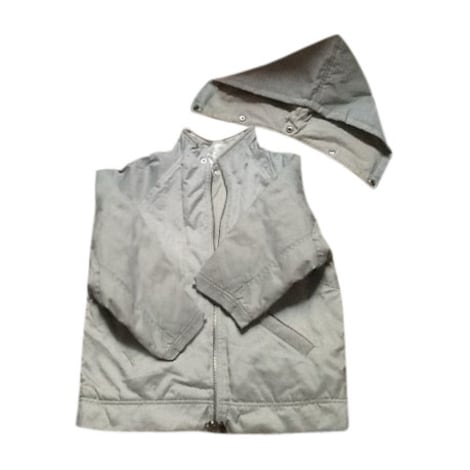Zipped Jacket BABY DIOR Gray, charcoal