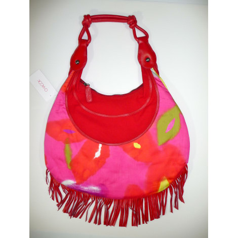 Non-Leather Oversize Bag CHACOK Pink, fuchsia, light pink