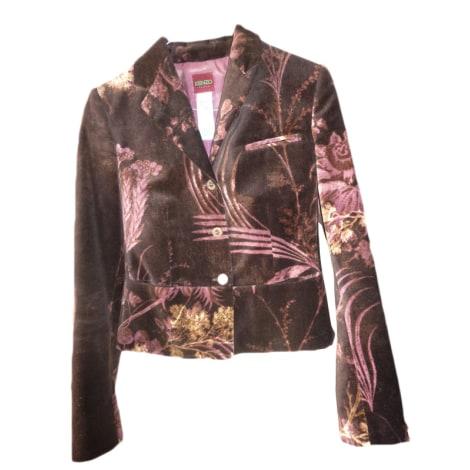 Blazer, veste tailleur KENZO Violet, mauve, lavande