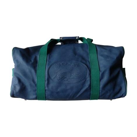 Shoulder Bag LACOSTE blue