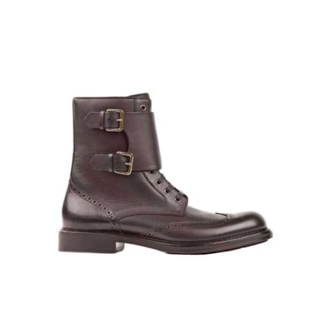Boots HUGO BOSS Brown