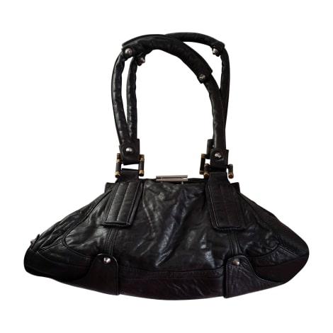 sac main en cuir diesel noir 2258753. Black Bedroom Furniture Sets. Home Design Ideas