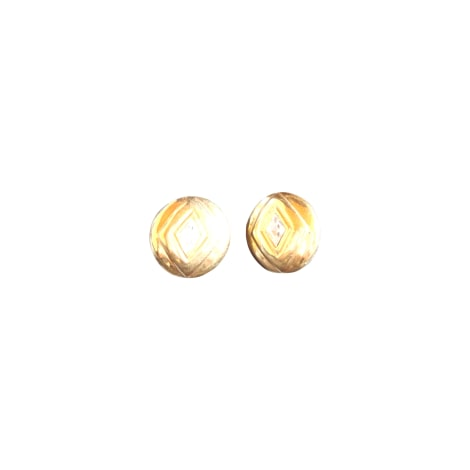 ohrringe chanel gold vendu par le dressing de mademoiselle coco 2297164. Black Bedroom Furniture Sets. Home Design Ideas