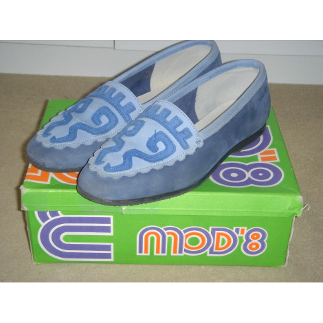 Mocassins MOD 8 Bleu, bleu marine, bleu turquoise