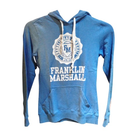 Zipped Jacket FRANKLIN & MARSHALL Blue, navy, turquoise