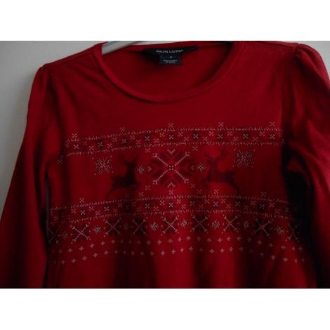 Top, T-shirt RALPH LAUREN Rosso, bordeaux