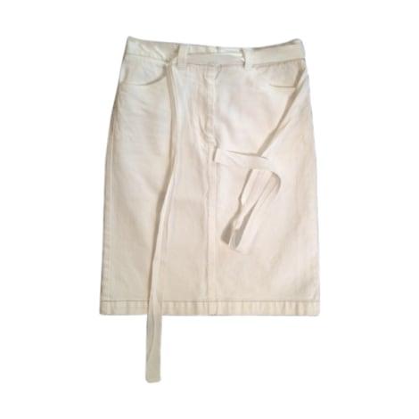 Midi Skirt ISABEL MARANT ETOILE White, off-white, ecru