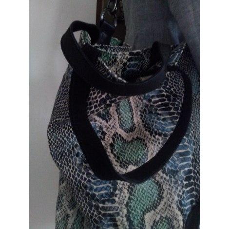 Non-Leather Shoulder Bag MONOPRIX Blue, navy, turquoise