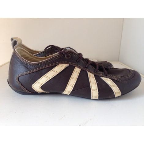 Chaussures à lacets LEVI'S Marron